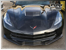 ST Stingray Carbon Fiber Front Lip & Side Skirts For 2014+ Chevy Corvette C7 Z51