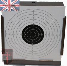 Alta Qualità titolare TARGET PELLET TRAP + 100 AIR RIFLE SHOOTING LIBRO obiettivi