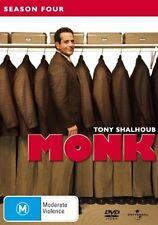 Monk : Season 4 (DVD, 2006, 4-Disc Set)