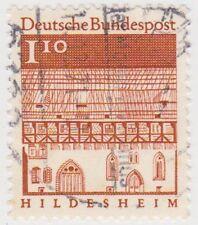 (G587)1964GERMAN 1DM10 brown German architecture ow1379