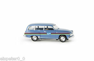 "Wartburg 311 Kombi ""Lacufa"", H0 Auto Modell 1:87, Brekina 27174"
