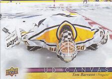 17-18 Upper Deck Tom Barrasso UD Canvas Retired Stars Penguins 2017
