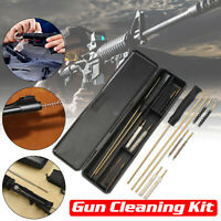 Barrel CLEANING KIT Air Rifle Pistol Gun Airgun Rimfire 177 22 Brushes & Rods