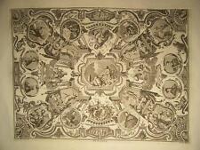 Galleria Uffizi Allegoria con Ritratti 1745: Teologia