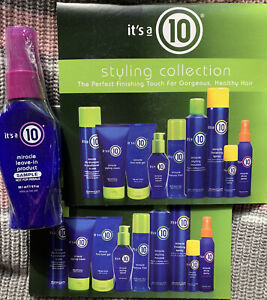 It's A 10 Leave In Miracle And (2) Styling Collection Cards, New!