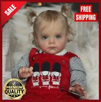 22'' Maggi DIY Reborn Baby Doll Kit Lifelike Vinyl Unpainted Unfinished Toy Gift