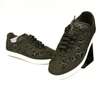 adidas Originals Gazelle Cutout Sneaker Damen Women Leder Schwarz Weiß BY2959