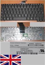 CLAVIER QWERTY UK HP NC4000 NC4010  Series 332940-031 0ARXVT01U 325530-031 Noir