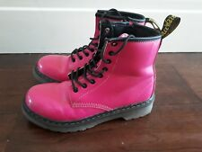 /Girls Dr. Martens BOOTS  size 1 UK/ 33 EU  PINK / GOOD CONDITION