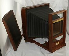 Rochester Optical Company 8x10 Standard View Camera w/ Plate Holder