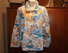 ARTSCAPES Lifestyle Cruise Sailing Beach Jean Canvas Cotton Twill 1X 18W MINT!