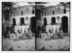 Poor Jewish family of Aleppo,Syria,Middle East,American Colony Photo,c1910 5699
