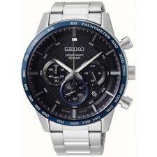 Seiko Gents Chronograph Watch - SSB357P1-NEW