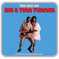 THE SOUL OF IKE & TINA TURNER - 60 SLICES OF SENSUOUS SOUL (NEW SEALED 3CD)