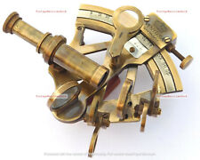 Vintage Navigational Maritime Sextant Brass | 4 Inchs Sextant Collectors Edition