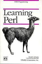 Learning Perl - A Nutshell Handbok (1993, Paperback)