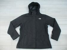 The North Face Womens Sangro Jacket Hyvent Waterproof Rain Coat XL Black Resolve