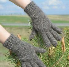 100% Longhair goat fluff Gloves hand knitting Furry Fetish Mohair wool M-Lunisex