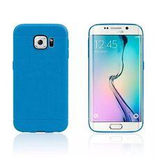 Custodia BACK COVER FORI Dot Silicone per Samsung Galaxy S7 EDGE Morbida GEL Blu