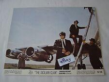 1969 THE SICILIAN CLAN Alain Delon Movie Lobby Card Press Photo 8 x 10 I
