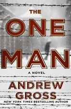 The One Man Book by Andrew Gross (2016, Hardcover) Hardback Novel New