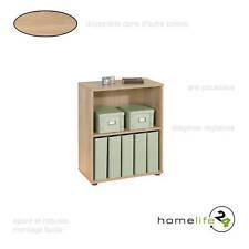 Très belle étagère simple avec 2 niveaux Sonoma chêne pour le rangement