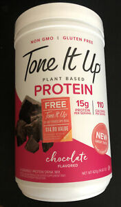 Tone It Up Plant Based 15g Protein - Chocolate, 14.82 Ounce, Exp 08/22