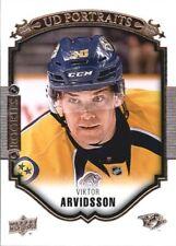 2015-16 Upper Deck UD Portraits #P73 Viktor Arvidsson