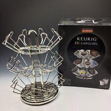 New listing Keurig 2.0 Carousel K-Cup Storage Rack Hold 24 K Cup Coffee Cups