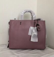 NWT 23755 COACH 1941 ROGUE DUSTY ROSE IN GLOVETANNED PEBBLE LEATHER SATCHEL BAG