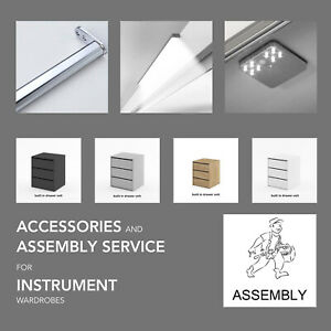 ASSEMBLY & ACCESSORIES for INSTRUMENT wardrobes