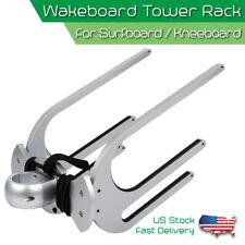 CNC Wakeboard Tower Rack Surfboard Kneeboard Water Ski Board Holder Boat Racks