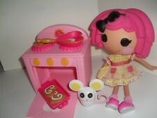 Lg Crumbs Sugar Cookie Party LaLaLoopsy Sew Magical Doll, Stove, mouse & acces.