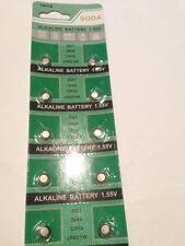10X Batería Alcalina 1.55V Limo AG1 364A CX60 LR621W envío gratis vendedor de Reino Unido