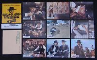 LE RETOUR DE SABATA set 9 lobby card photo 1972 film WESTERN Van Cleef