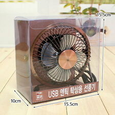 USB Power Portable Mini Fan Desk Laptop Computer PC Table Cooler Cooling