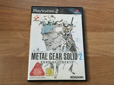 Metal Gear Solid 2: Sons of Liberty Sony PlayStation 2 NTSC-J Japan Import