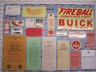 1950 Buick Special Super Roadmaster Engine & Interior Decal/Tag Kit   Set of 22