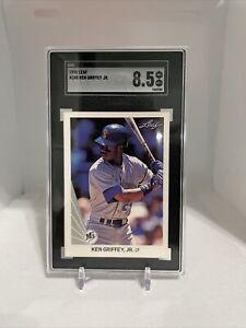 1990 Leaf Ken Griffey Seattle Mariners #245 Baseball Card SGC 8.5