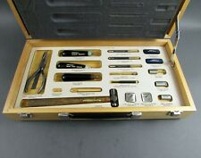 Amp 9467680 Subchassis Wrap Tool Kit with Wooden Case - USED - Lot of 18 Pieces