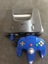 *AUS SELLER* Nintendo 64 Console And BLUE Controller With Cords n64
