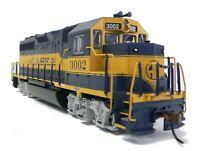 HO Scale Model Railroad Trains Engine Alaska GP-40 Locomotive DCC & Sound 66303