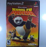 Playstation 2 Lot Of 2 Games Kung Fu Panda, Madden 06