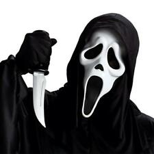 Scream 4 Ghost Face Mask & Knife Adult Horror Halloween Costume Accessory Prop