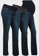 Under Bump Indigo, Dark wash Bootcut Maternity Jeans