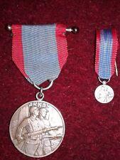 MEDAILLE D'ARRAS 1914-1918 WW1 AVEC SA REDUCTION