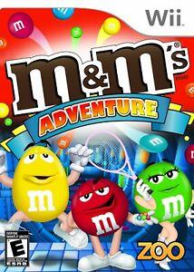 M&M's Adventure - Nintendo  Wii Game