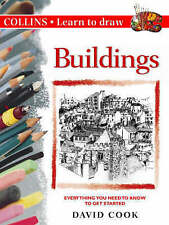 LEARN TO DRAW BUILDINGS (Collins) By David Cook NEW (Paperback) Book