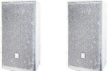 Pair of Jbl Ac299 Wh Ac 299 12 Two-Way Full-Range Loudspeaker, Speaker White