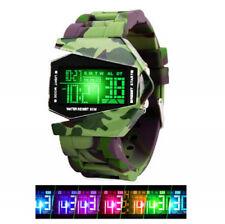 Digitale Armbanduhren aus Leder mit Uhr
